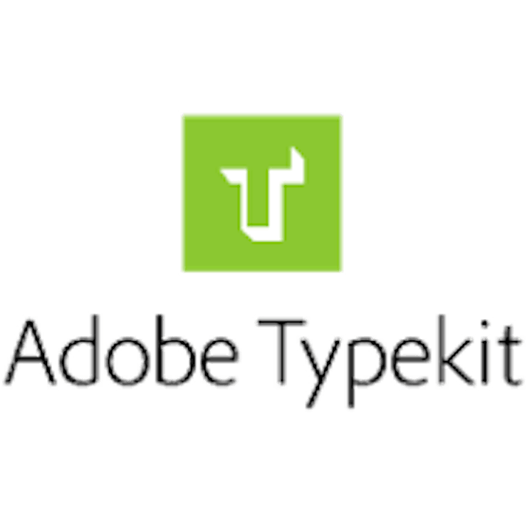 More about typekit
